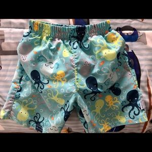 I Play baby swim trunk with reusable diaper.